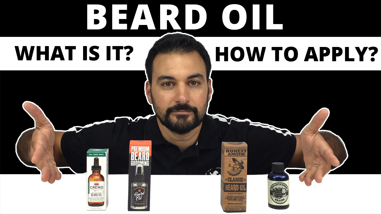 Beard Oil - What is it and How to Apply? - GroomReviews